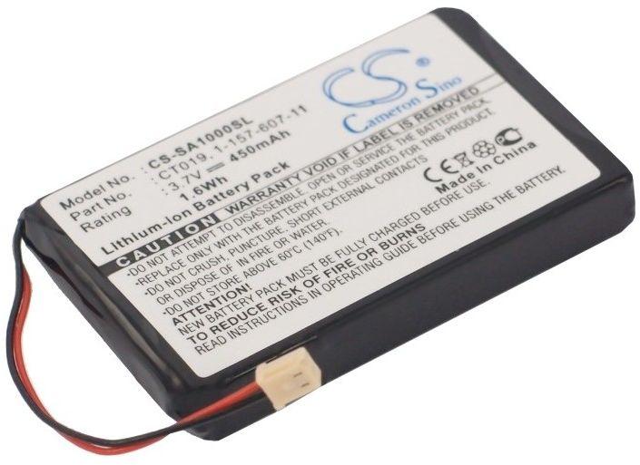 Sony NW-A1000 / 1-157-607-11 450mAh 1.67Wh Li-Polymer 3.7V (Cameron Sino)