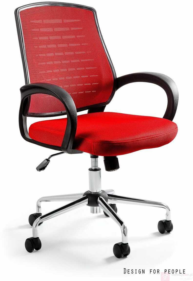 Fotel AWARD Unique Czarno-czerwony  Zapytaj o RABAT!