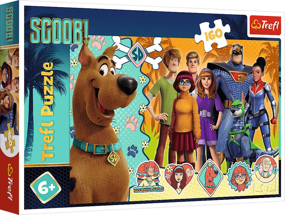 Puzzle TREFL 100 - Scooby Doo! Gdzie jesteś?, Where are you?