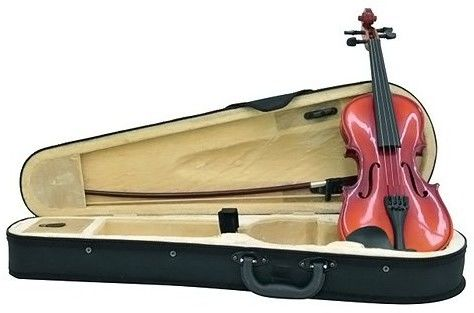 Dimavery Violin 1/8 with bow in case, skrzypce