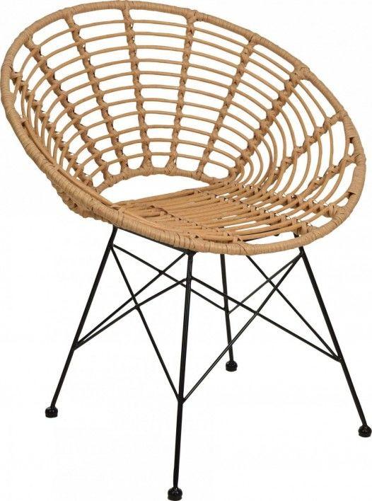 Krzesło Rattanowe Zanzi