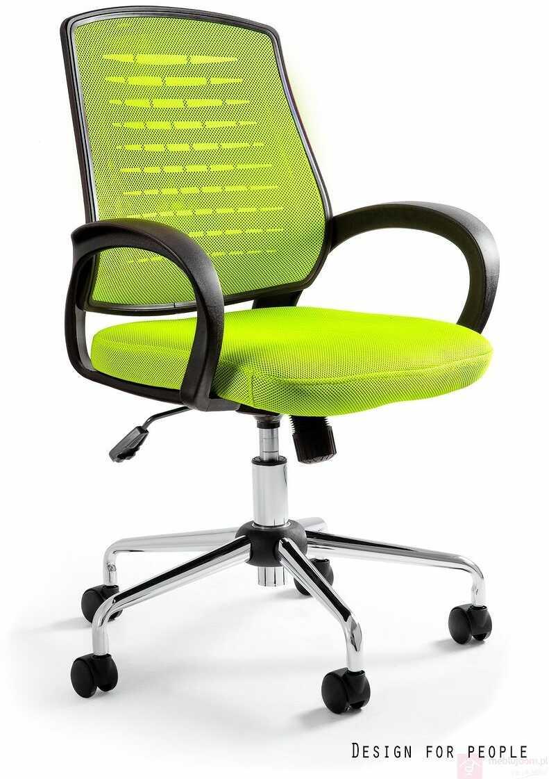 Fotel AWARD Unique Czarno-limonkowy  Zapytaj o RABAT!