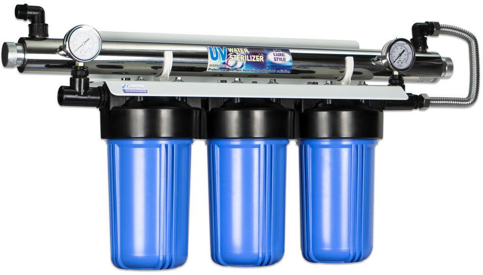 Zestaw filtracyjny Jumbo UV 3-10-55