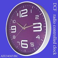 Zegar ALFA sterowany radiowo /fiolet