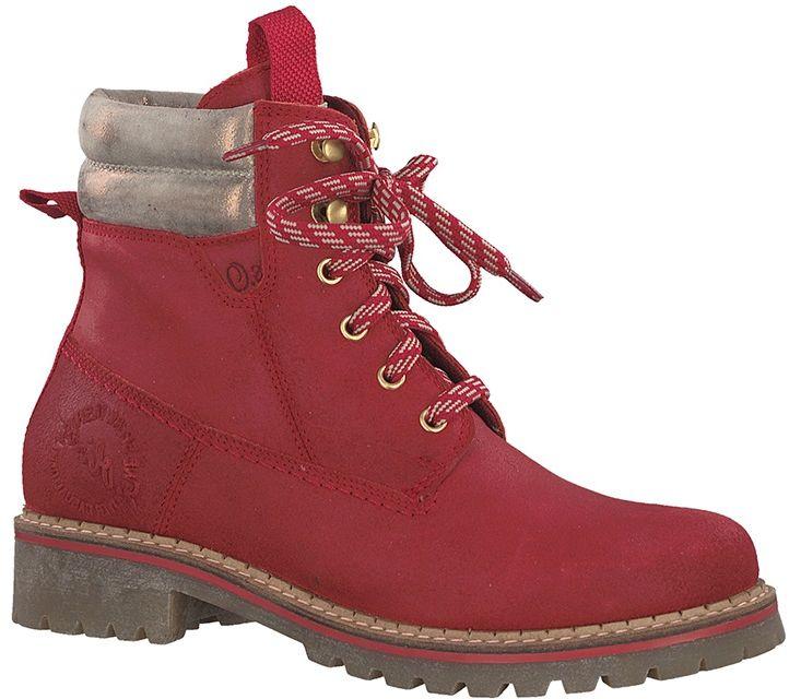 Buty trekkingowe damskie S.Oliver (czerwone)SO552520439533