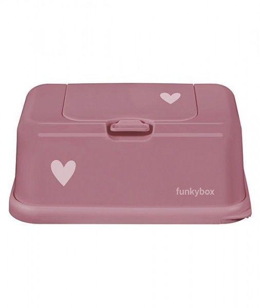 Funkybox - Pojemnik na Chusteczki, Punch Pink Heart