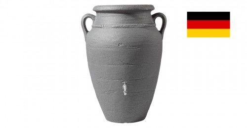 Zbiornik na deszczówkę przyścienny poj. 260 L Antique amphora ciemny granit