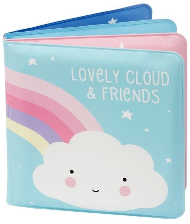 A Little Lovely Company - A Little Lovely Company - Książeczka do Kapieli Chmurka i Przyjaciele