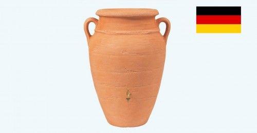Zbiornik na deszczówkę przyścienny poj. 260 L Antique amphora terrakotta
