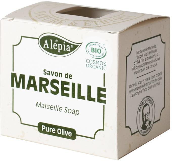 Mydło marsylskie oliwkowe 100% eco 230 g - alepia