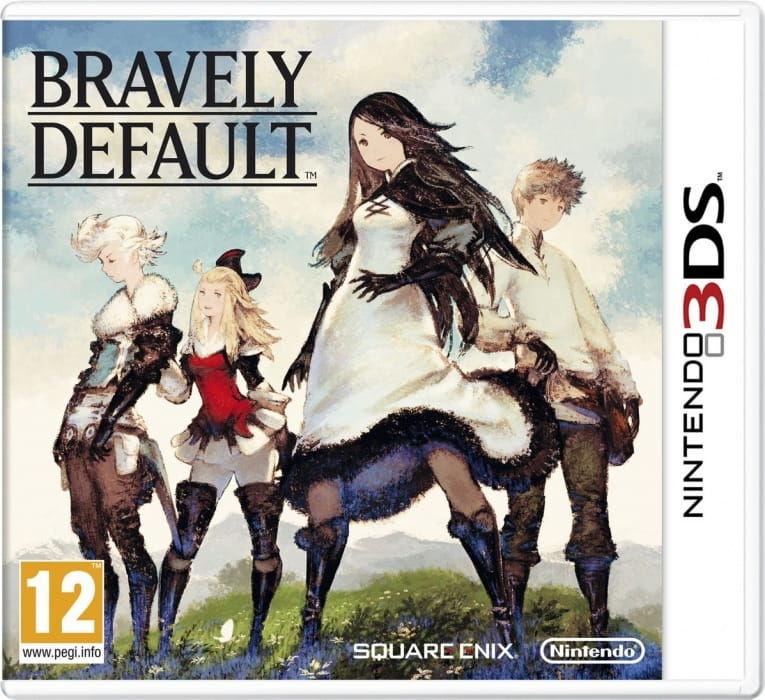 Gra Bravely Default (3DS)
