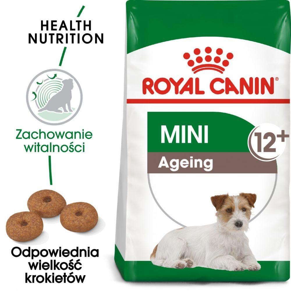 ROYAL CANIN Mini Ageing 12+ 3,5kg karma sucha dla psów dojrzałych po 12 roku życia, ras małych