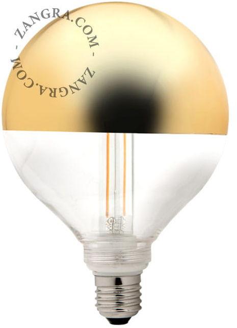 Żarówka Z odkręcanym kloszem LED Złota Korona