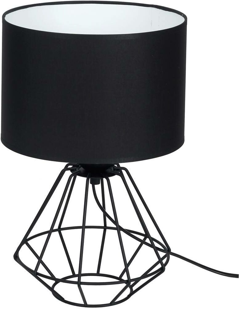 Lampa stojąca COLIN BLACK 1xE27