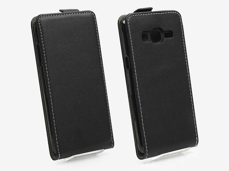Samsung Galaxy J3 (2016) - etui na telefon Forcell Slim Flexi - czarny