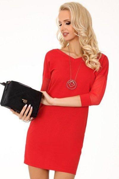 Sukienka damska merribel betanisa red