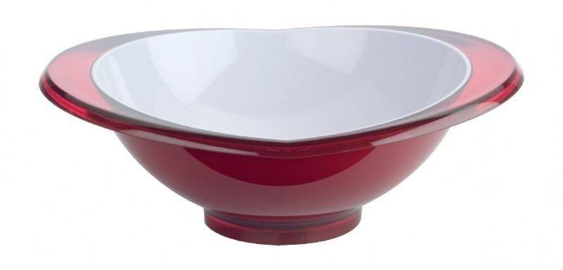 Casa bugatti - salaterka glamour 23 cm - czerwona