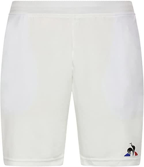 Le Coq Sportif damskie krótkie spodnie tenisowe N 2 M New Optical White beżowy New Optical White X-L