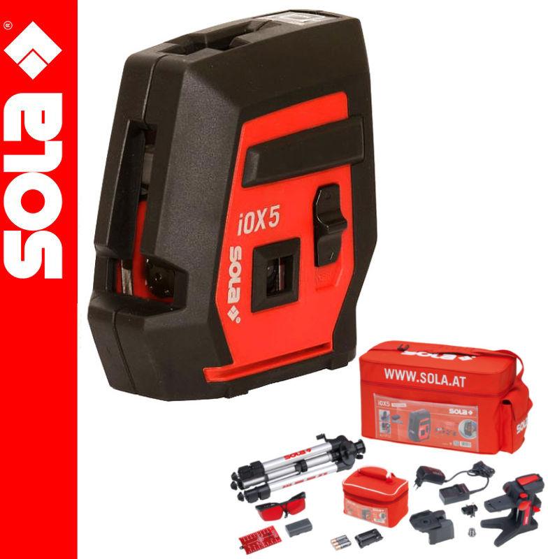 Laser liniowy i punktowy iOX5 Profi SOLA