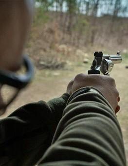 Strzelanie na strzelnicy  Świdnik