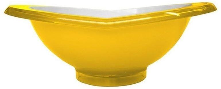 Casa bugatti - salaterka glamour 23 cm - żółta
