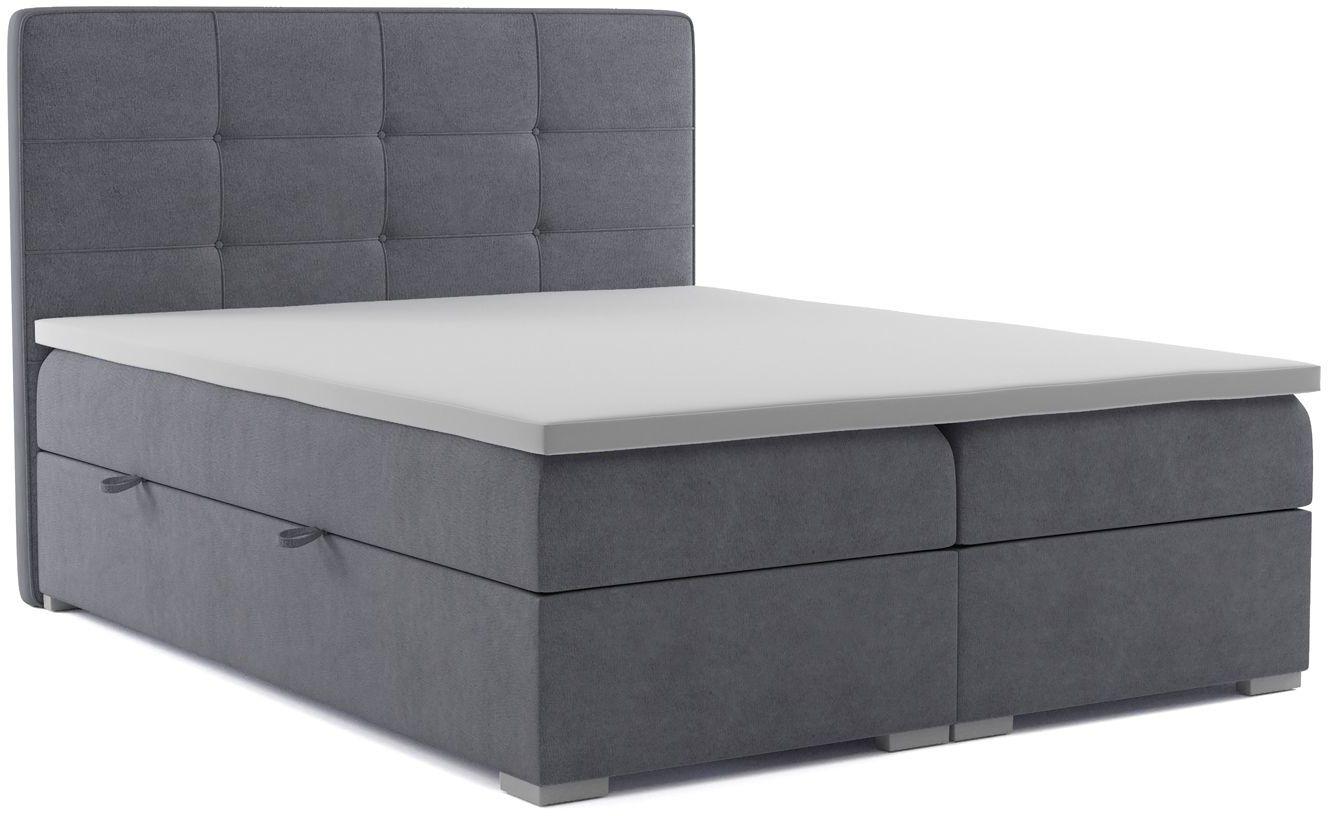Łóżko kontynentalne Nubis 120x200 - 58 kolorów