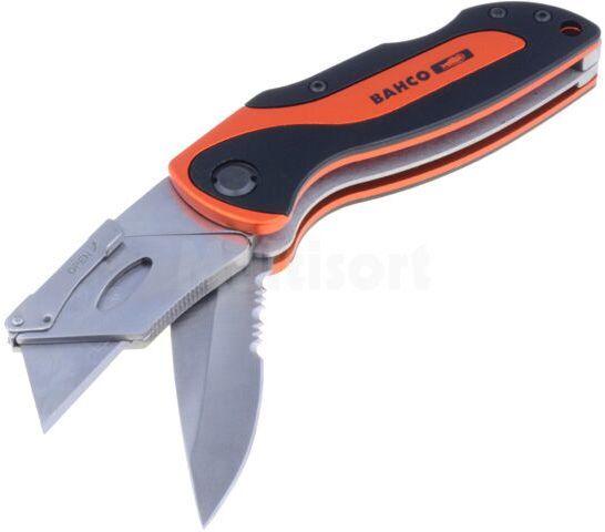 Nóż BAHCO KBTU-01 do cięcia kartonu, skóry itp Ostrze:19mm