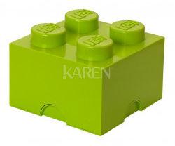 Pojemnik LEGO 4 ciemnozielony 40031734