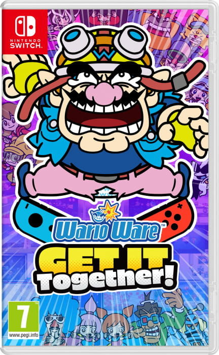 Gra WarioWare: Get It Together! (Switch)