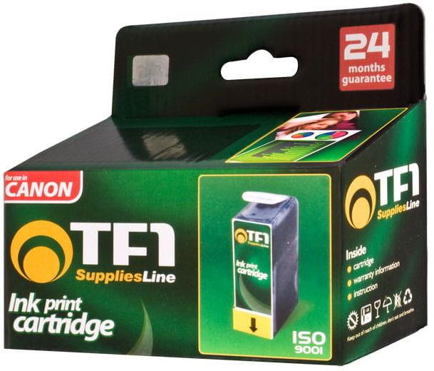 Zestaw 5 tuszy TFO Canon PGi525 CLi526 - czarny duży + czarny mały + niebieski + czerwony + żółty