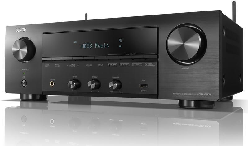 Amplituner Stereo Denon DRA-800H HEOS WiFi Raty, Dostawa Gratis, Salon Warszawa