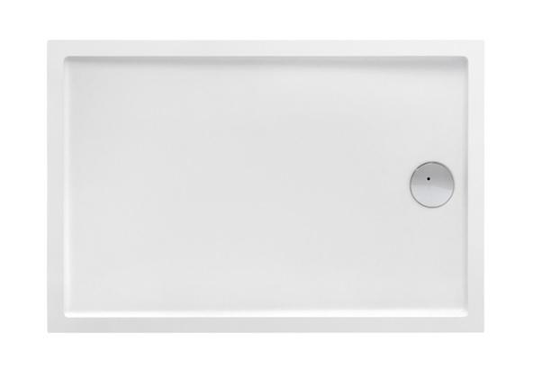 Roca Granada Medio brodzik prostokątny 140x80x7,5cm biały A27T008000