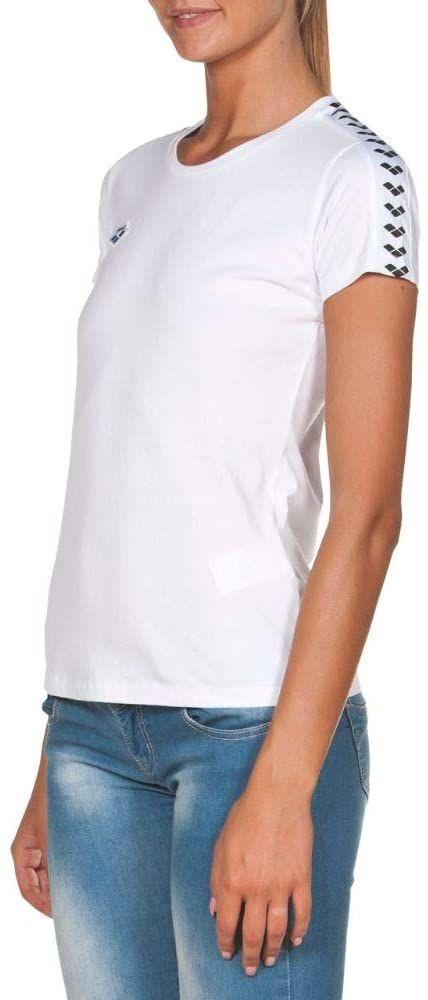 arena Damski T-shirt Arena damski Icons Team T-shirt biały i czarny M