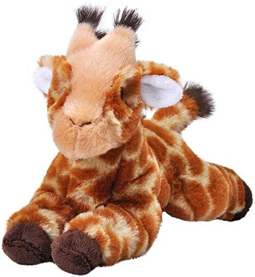Wild Republic 24794 żyrafa Stuffed Animal 8 cali Ecokins Mini