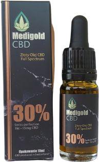Olej CBD 30% 10ml Medigold w oleju MCT Najmocniejszy