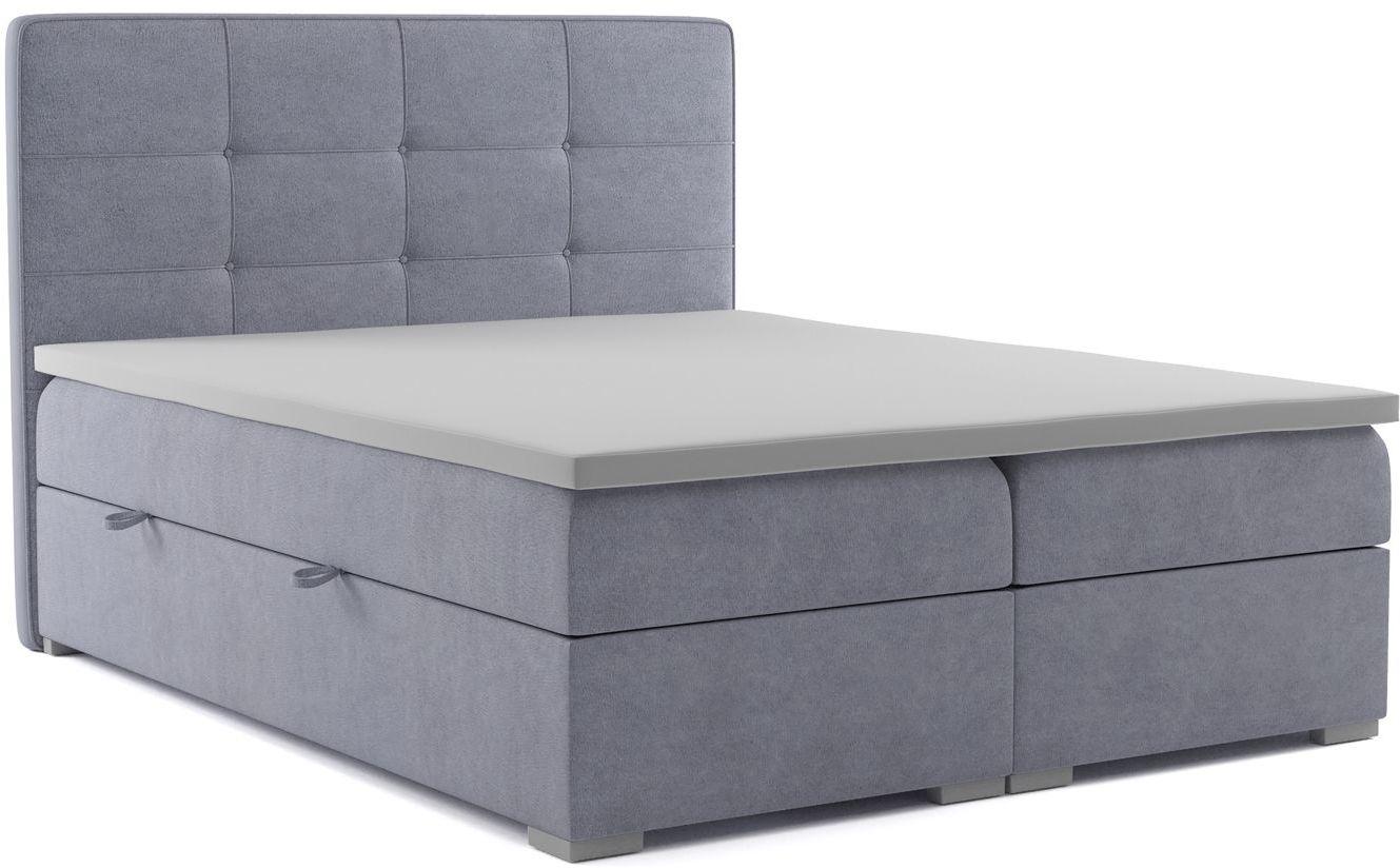 Kontynentalne łóżko małżeńskie Nubis 180x200 - 58 kolorów