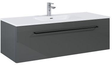 SZAFKA podumywalkowa FUTURIS 120x37x45,6cm 1S kolor ANTHRACITE