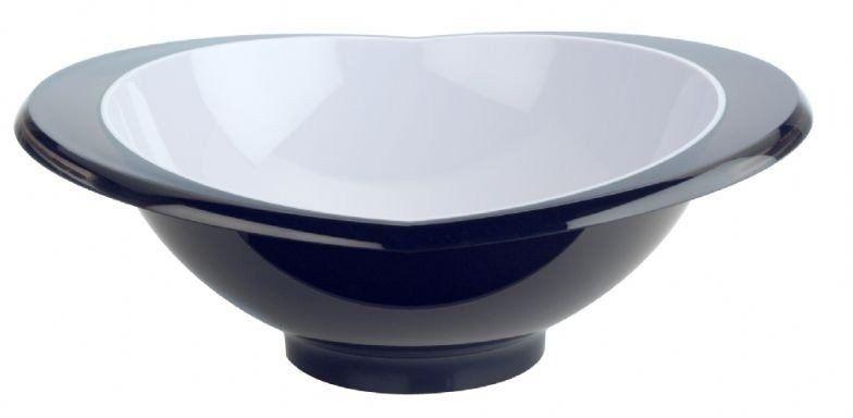 Casa bugatti - salaterka glamour 23 cm - czarna