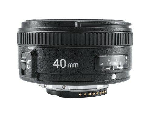 Yongnuo YN 40mm f/2,8 do Nikon F
