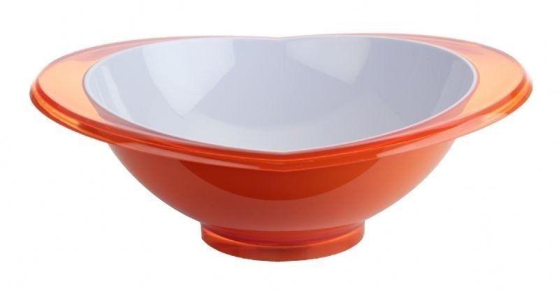 Casa bugatti - salaterka glamour 23 cm - pomarańczowa