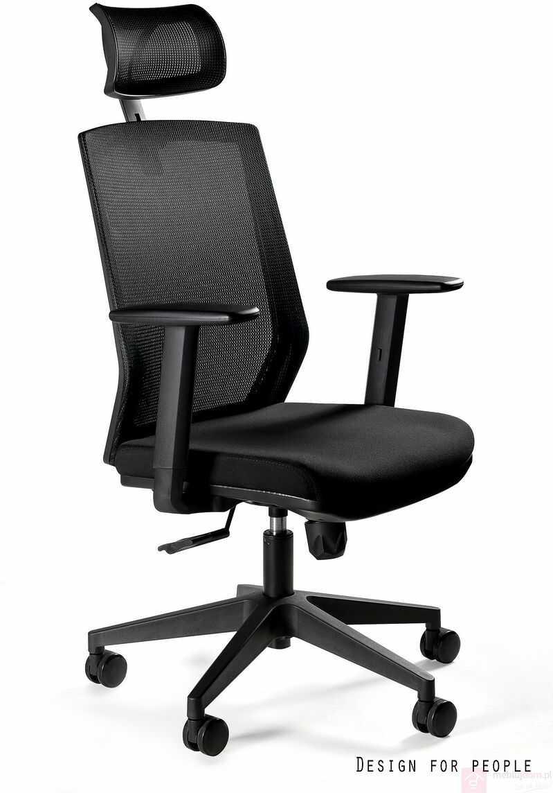 Fotel biurowy ESTA Unique Czarny  Zapytaj o RABAT!