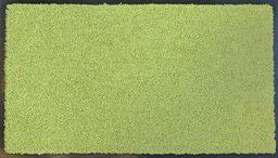 """oKu-Tex Wycieraczka mata zatrzymująca brud """"Eco-Clean"""" zielona guma z recyklingu do wnętrz obszar wejściowy / drzwi wejściowe / klatka schodowa / korytarz antypoślizgowa 60 x 90 cm"""