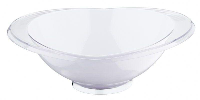 Casa bugatti - salaterka glamour 28 cm - biała