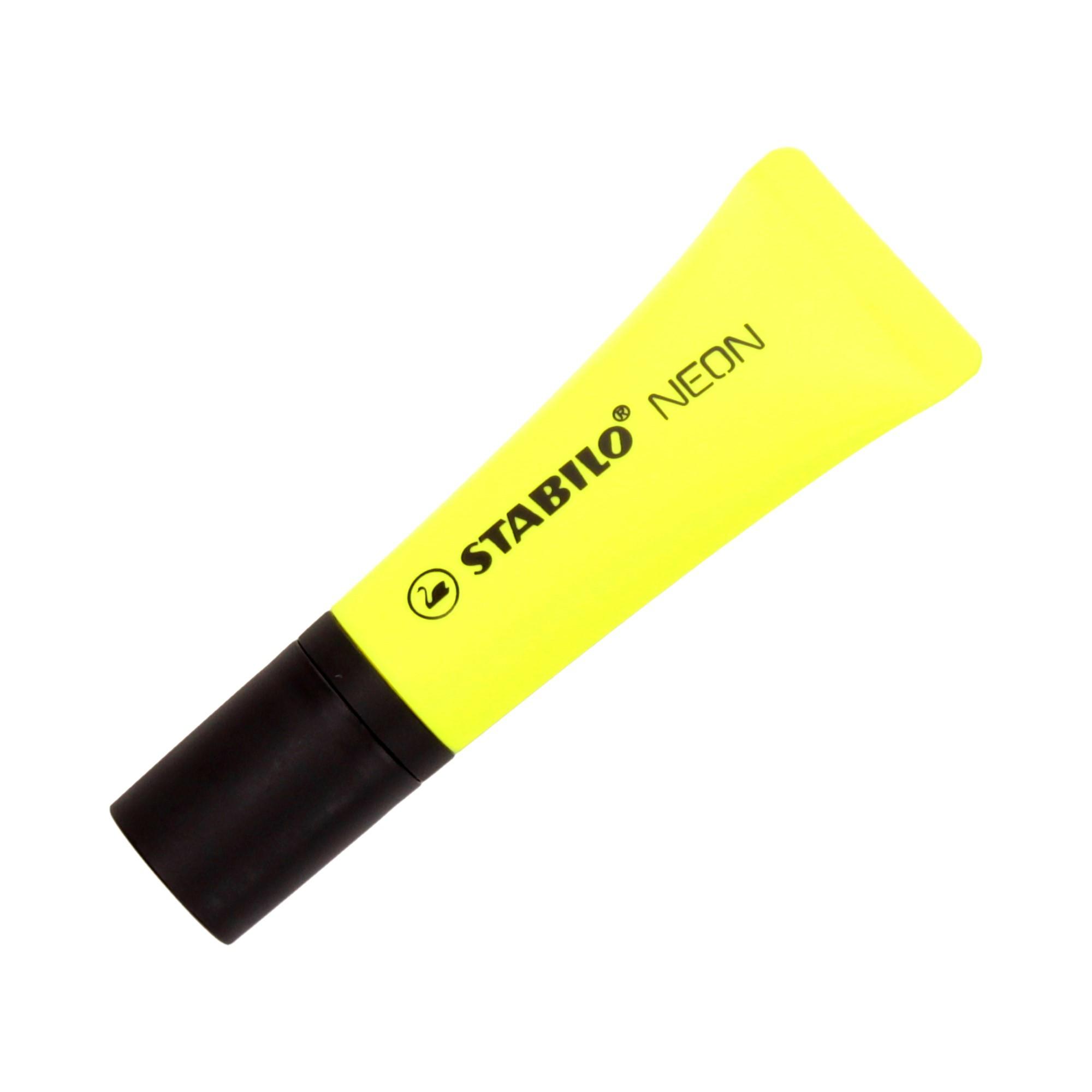 Zakreślacz żółty neon Stabilo 72/24