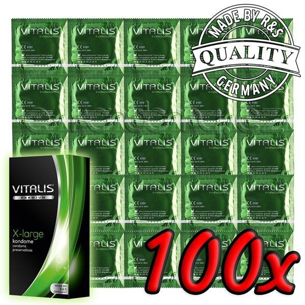 Vitalis Premium X-large 100 pack