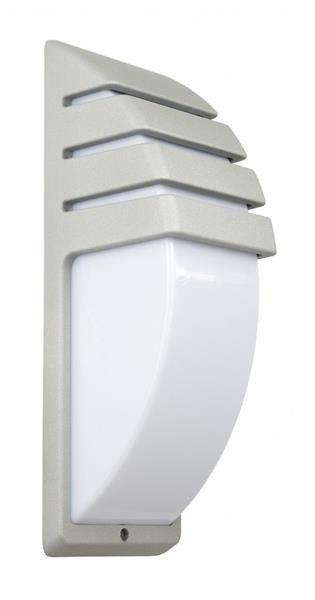 Lampa na elewację lub nad drzwi CITY 1836 srebrna AL