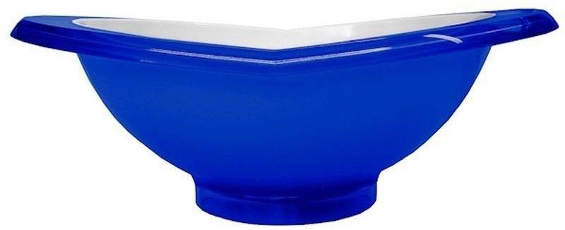 Casa bugatti - salaterka glamour 28 cm - niebieska