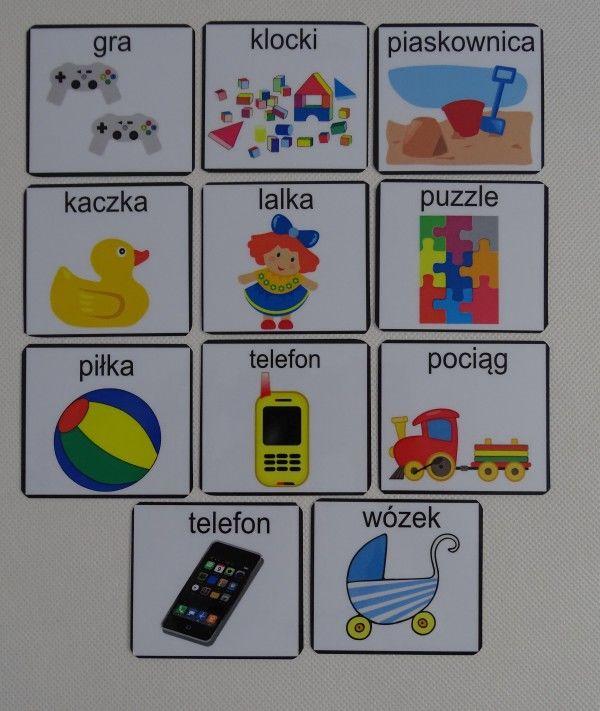 Zabawki - piktogramy