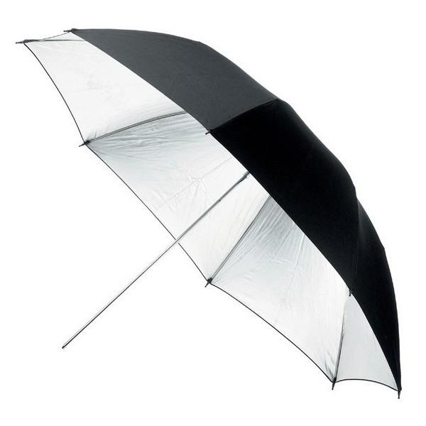 Parasolka srebrna Fomei 105cm S-105 (FY7598)