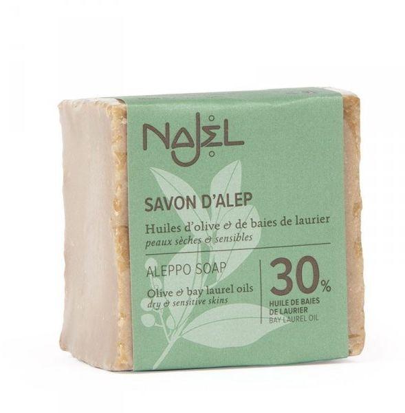 Mydło z Aleppo, 30% Oleju Laurowego, 70% Oliwy z Oliwek, Najel